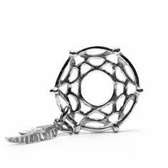 Dreamcatcher Charm in Sterling Silver by Novobeads -Made in the USA - Fits Pandora and Other European Bead Bracelets Novobeads, http://www.amazon.com/dp/B008HT1BX6/ref=cm_sw_r_pi_dp_2Eqptb1QGKQGEA7A