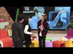 After School Club-Erick and Kevin show their aegyo to Jimin!! 지민에게 애교를 보여주는 에릭 - YouTube