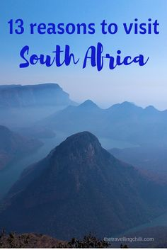 13 Great reasons to visit South Africa ************************************ wildlife in South Africa | Oldest wine industry outside of Europe | Cape Town | South Africa is the rainbow nation | Safari in South Africa | Highest bungee jump | Whale watching in South Africa