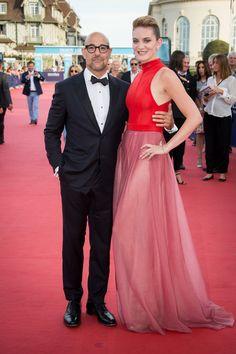 Stanley Tucci et Felicity Blunt au 42ème Festival du Cinéma Américain de Deauville