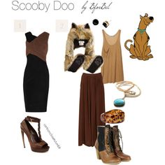 cartoon closets Ok, so there are a few things I wouldn't be caught dead wearing here like the ugly dead animal and the pair of shoes on the right. But I do like that dress Scooby Doo Costumes, Cute Halloween Costumes, Adult Halloween, Disney Themed Outfits, Disney Dresses, Disney Inspired Fashion, Cartoon Outfits, Character Inspired Outfits, Fandom Fashion