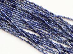 WHOLESALE 5 Strands Sodalite Blue Sodalite by gemsforjewels