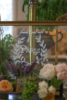 ~ french country banner