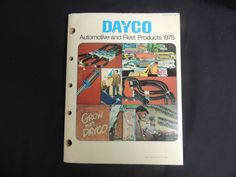 1978 Dayco Catalog Automotive Fleet Products Belts Hoses Weatherly Index 400 #Dayco