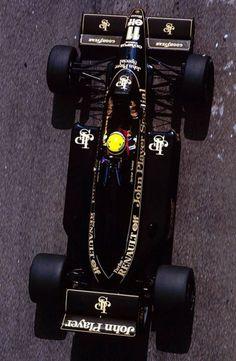 Ayrton Senna da Silva - Lotus 98T Renault EF15B V6 - John Player Special Team…