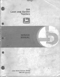 Repair manual john deere 3050 3350 3650 tractor technical manual tm repair manual john deere 200 series lawn garden tractors service manual sm 2105 fandeluxe Image collections
