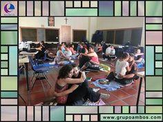 Sintonía en Pareja Venezuela, Caracas, Centro Eudista de Formación San Gabriel. 28 de Septiembre de 2014 Parejas participantes durante la actividad experiencial: Atención Plena en Pareja