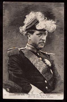 1914 ll King Albert in Military Uniform