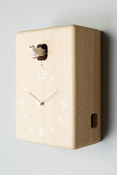 Carved Cuckoo Wall Clock - anthropologie.com #anthrofave