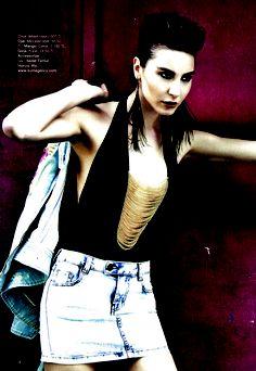 Oye @ Harper's Bazaar May 2009, Ece Sukan