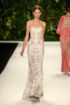 LOVE THIS!!! Naeem Khan - Runway - Mercedes-Benz Fashion Week Spring 2014