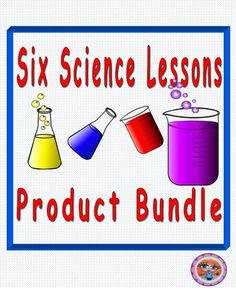 Six Science Lessons Products Bundle Pack