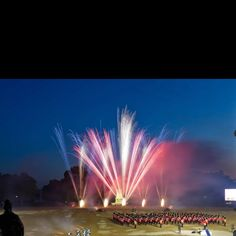 Fully Fused Fireworks Beating Retreat London Horseguards 2012