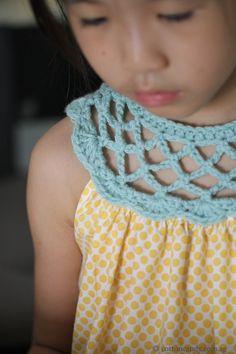 Crochet Dress Collar