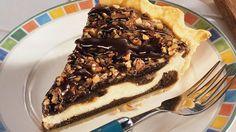 Cream Cheese Brownie Pie~Fudgy Top Prize Winning Dessert.