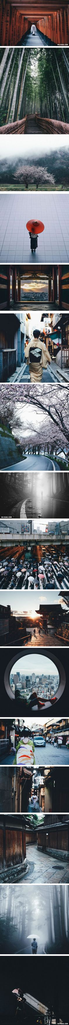 The Beauty Of Life In Japan (By Photographer Takashi Yasui)