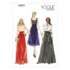 Vogue Sewing Pattern - 8955
