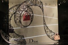 """DIOR,""""The composition of the scrolling line"""", pinned by Ton van der Veer"""