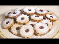 Kortalan omlós kedvenc - Linzer (Szécsi Szilvi) - YouTube Doughnut, Cookies, Chocolate, Youtube, Food, Crack Crackers, Biscuits, Essen, Chocolates