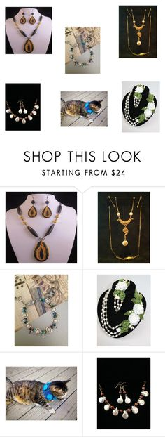 """""""Shops on Etsy #1"""" by artistinjewelry ❤ liked on Polyvore featuring Goldette"""