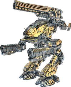 Combat Mech /w Duel Gauss Arms and Giant Railgun. Gundam, Cyberpunk, Power Rangers, Robotech Macross, Arte Robot, Mekka, Cool Robots, Sci Fi Armor, Future Soldier