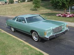 1977 Mercury Grand Marquis Brougham. This mighty cruiser has the 460 V8 7.5 liter