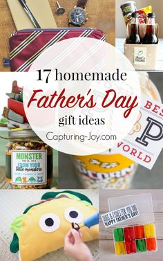 17 Homemade Father's Day Gifts. | Great gift ideas dad will love! - Capturing Joy with Kristen Duke