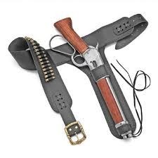 A distinctive weapon like a shortened rifle needs the right holster. The 1892 Shortened Lever Action Rifle Leg Holster is designed for a shortened rifle and pairs well with the 1892 Shortened Lever Action Rifle Guns And Ammo, Weapons Guns, Henry Rifles, Western Holsters, Lever Action Rifles, Leather Holster, Cool Guns, Firearms, Shotguns