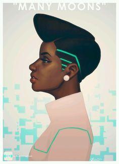 Janelle monae inspired art