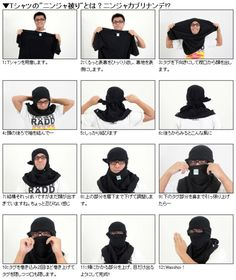 From Shirt TO Mask.