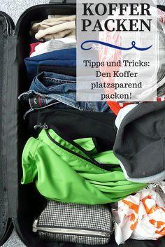Möchtet ihr nur mit Handgepäck reisen oder eure Packliste so klein wie möglich halten? Mit den Tipps und Tricks, um den Koffer platzsparend zu packen, kommst du mit wenig Platz aus. Gerade bei günstigen Airlines, wo noch ordentlich für jeden Koffer draufbezahlt werden muss, ist das eine tolle Alternative!