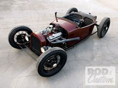 Hot Rod e Kustom: Dodge Roadster 1925, com motor Chevy 350 Small Block.