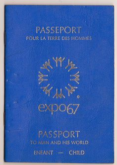 Expo 67 Passport (Still have mine! Expo 67 Montreal, Montreal Ville, Montreal Quebec, Holiday Mini Session, Mini Sessions, Niagara Falls Pictures, Canada Eh, Canadian History, Christmas Couple