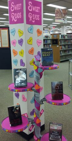 Sweet Reads - Library Display