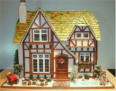 Christmas cottage exeterior 2.jpg 700×547 pixels