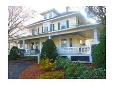 This New England style home without a doubt, one of the finest, and most urban homes in the area. This home has nine stunning rooms, hardwood floors throughout, many custom built-ins, and a kitchen for your cooking pleasure. This farmers porch is very spacious great for entertaining your friends and family This is the quintessence of a beautiful home. #zillow