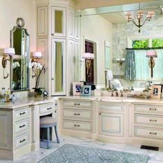 9 Beautiful Cabinet Remodel Ideas for Bathroom - Modern Master Bathroom Decor, Bathroom Cabinets Designs, Wood Floor Bathroom, Master Bathroom Decor, Bathroom Corner Cabinet, Corner Bathroom Vanity, Corner Vanity, Bathrooms Remodel, Bathroom Design