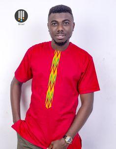 African print shirt for men