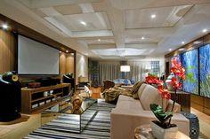 Estantes, racks e painéis – veja lindas opções de móveis de tv para sua sala!