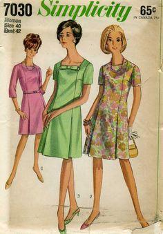 1960's A Line Dress