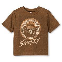Toddler Boys' Smokey Bear T-Shirt - Brown
