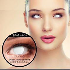 blind white halloween contacts in stock coloredcontacts halloweencontacts halloweenmakeup blindcontacts blindwhite
