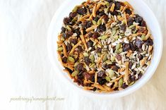 Trail Mix | Nut-Free | Ponderings From My Heart
