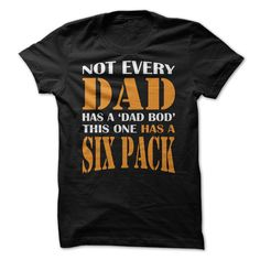 Not every dad has a Dad Bod. This one has a six pack!     Get this to your Fitness Dad on Fathers Day!