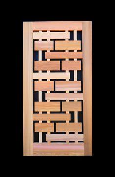 Wooden Gate Designs, Wooden Gates, Cedar Gate, Custom Gates, Western Red Cedar, Internal Doors, Craftsman Style, Mid Century Design, Custom Design