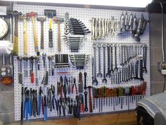Let's see your pliers racks [ homemade & bought] - Page 4 - The Garage Journal Board