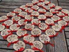 """peču...."" Terracotta Jewellery Designs, Xmas, Christmas Ornaments, Ceramic Art, Polymer Clay, Jewelry Design, Pottery, Personalized Items, Crafts"