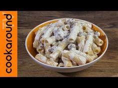 Tortiglioni con panna e salsiccia - YouTube Italian Language, Youtube, Meat, Chicken, Food, Essen, Meals, Youtubers, Yemek