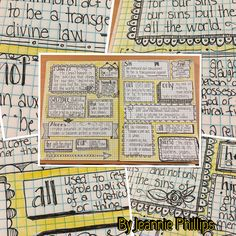 I am loving Bible Journaling this way!  This is my version of verse mapping. I simply looked up the definition of each word and doodled a frame around them.