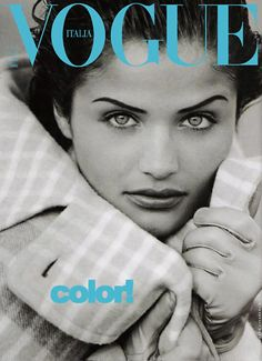 Helena Christensen   For Vogue Magazine Italy   1992 #helenachristensen #vogue #1992